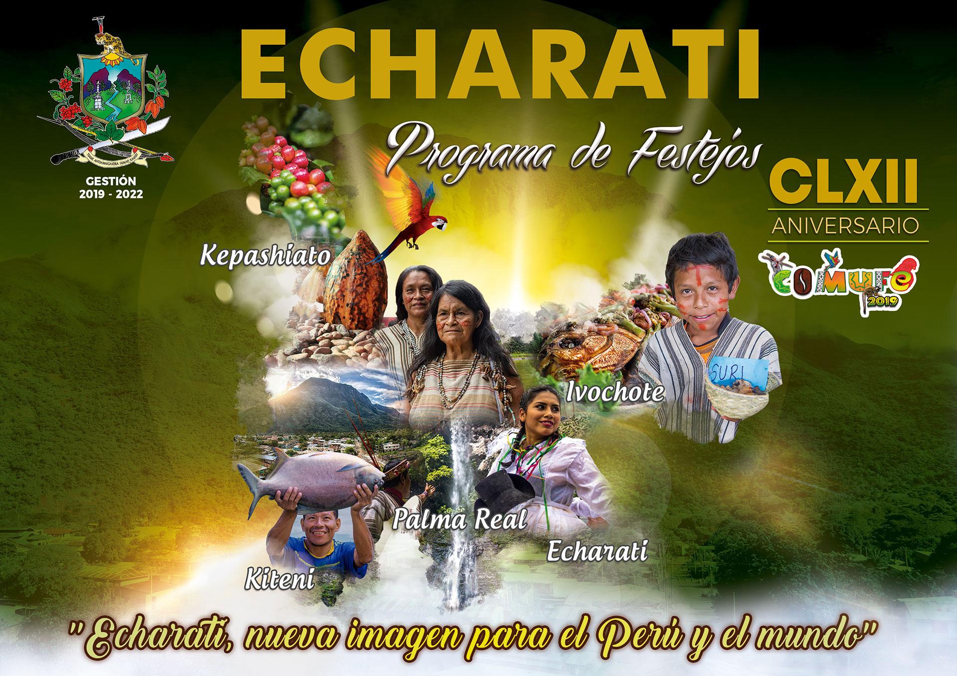 Programa de Festejos Echarati 2019